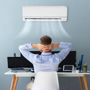 Les climatiseurs sont surtout installés dans les bureaux