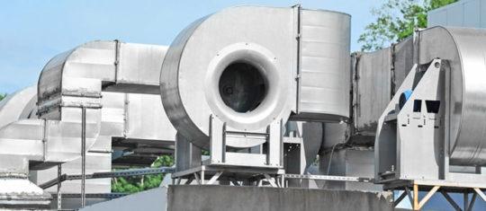 ventilation industrie